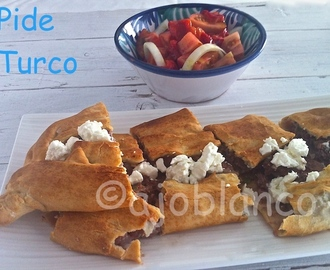 Pide Kiymali  { Reto Bake The World }