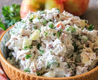 Apple Pecan Chicken Salad #AppleWeek
