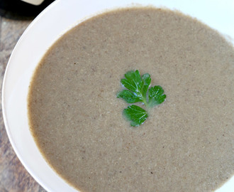 Mushroom Soup Recipe (Cream-Free)
