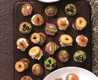 Sharing platters recipes mytaste for Canape spreaders