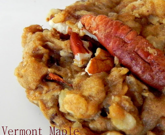 Vermont Maple Pecan Cookies