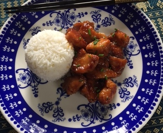 Kiinalainen appelsiinikana - orange chicken
