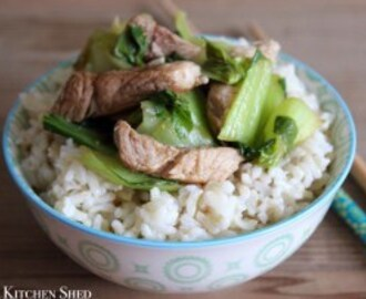 Clean Eating Quick Chinese Style Pork