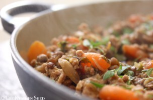 Clean Eating Turkey Lentil Savoury Mince