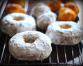 Semi-Guilty Pleasures (Baked Donuts with Cinnamon Sugar Glaze)