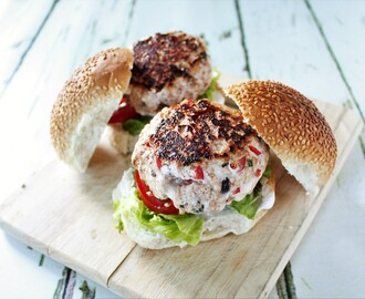 Recipe: Tandoori Chicken Burgers