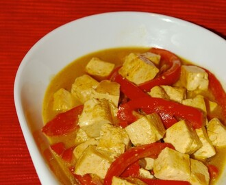Tofu Coconut Milk Curry Soya Sauce