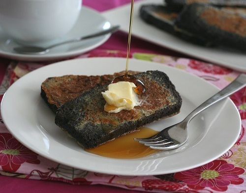 Chocolate Pound Cake French Toast – Low Carb and Gluten-Free
