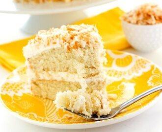 Best Ever Coconut Cream Cake