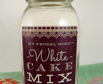 White Cake Mix Recipe