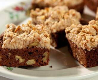 Brownies with Coconut Frosting
