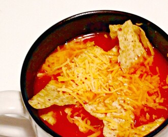 Crock Pot Chicken Tortilla Soup {Recipe}
