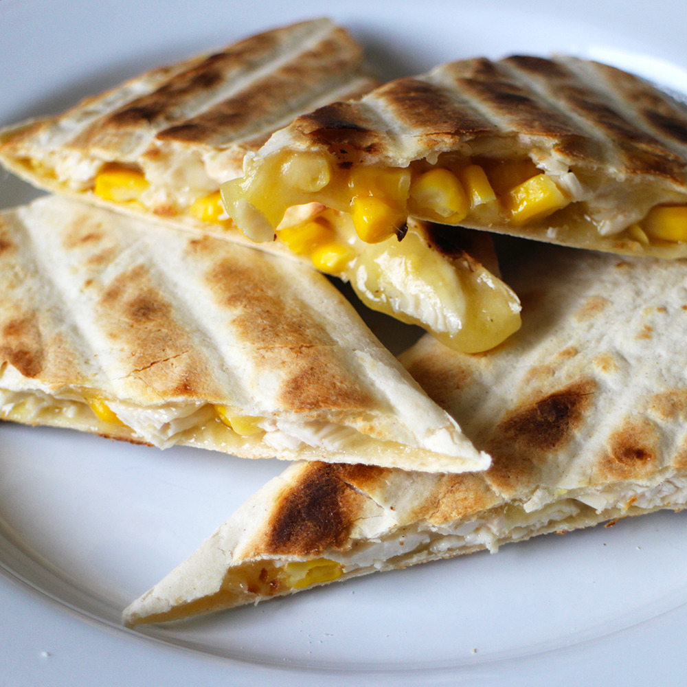 Quesadilla - Savoury and Sweet