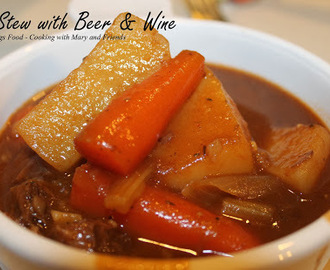 Irish Stew with Beer & Wine
