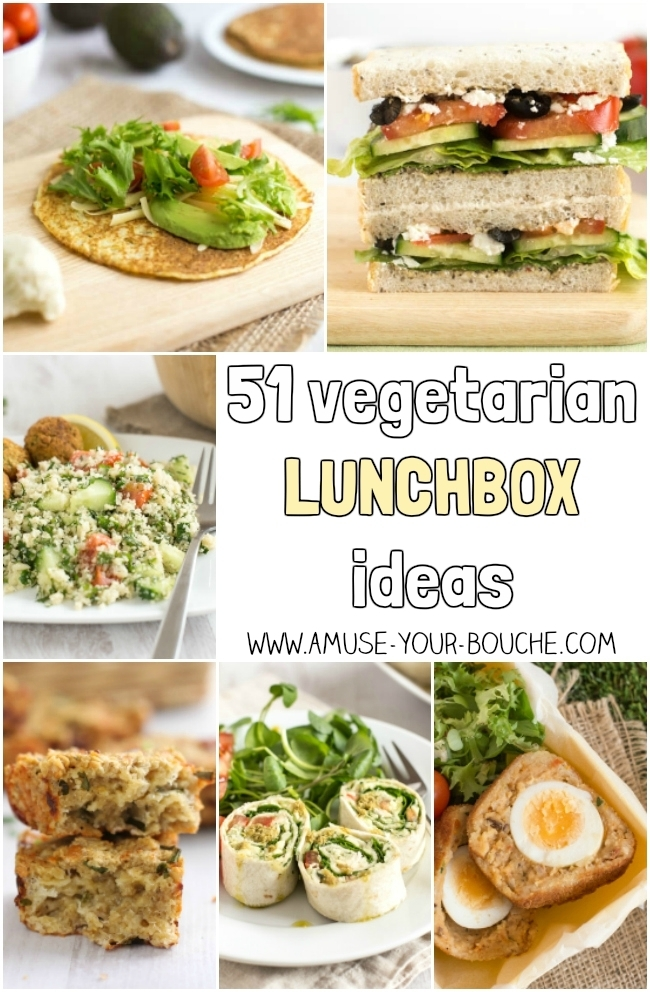 51 vegetarian lunchbox ideas