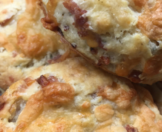 Cheese & Bacon Scones