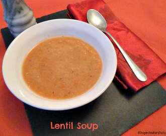 Making Lentil Soup