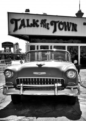 Poster/Canvas - Talk of the Town Las Vegas Nevada (50x70 cm,Poster)