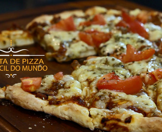 Vídeo: Receita de pizza mais fácil do mundo