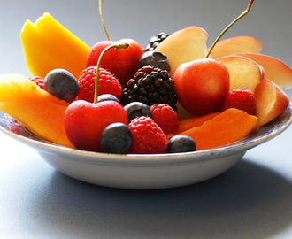 JUST FRUIT...simple and perfect.