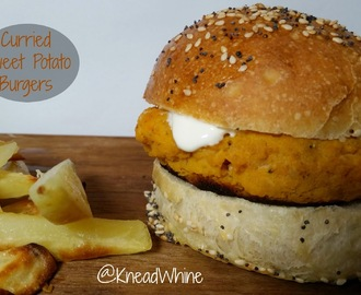 Curried Sweet Potato Burgers