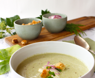 Creamy Broccoli & Leek soup