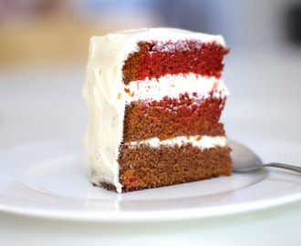 Samettinen Red Velvet Cake