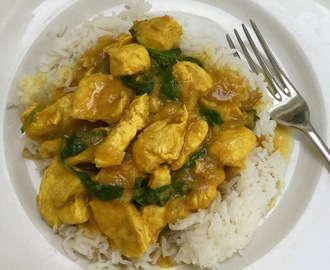 Slimming world chicken curry