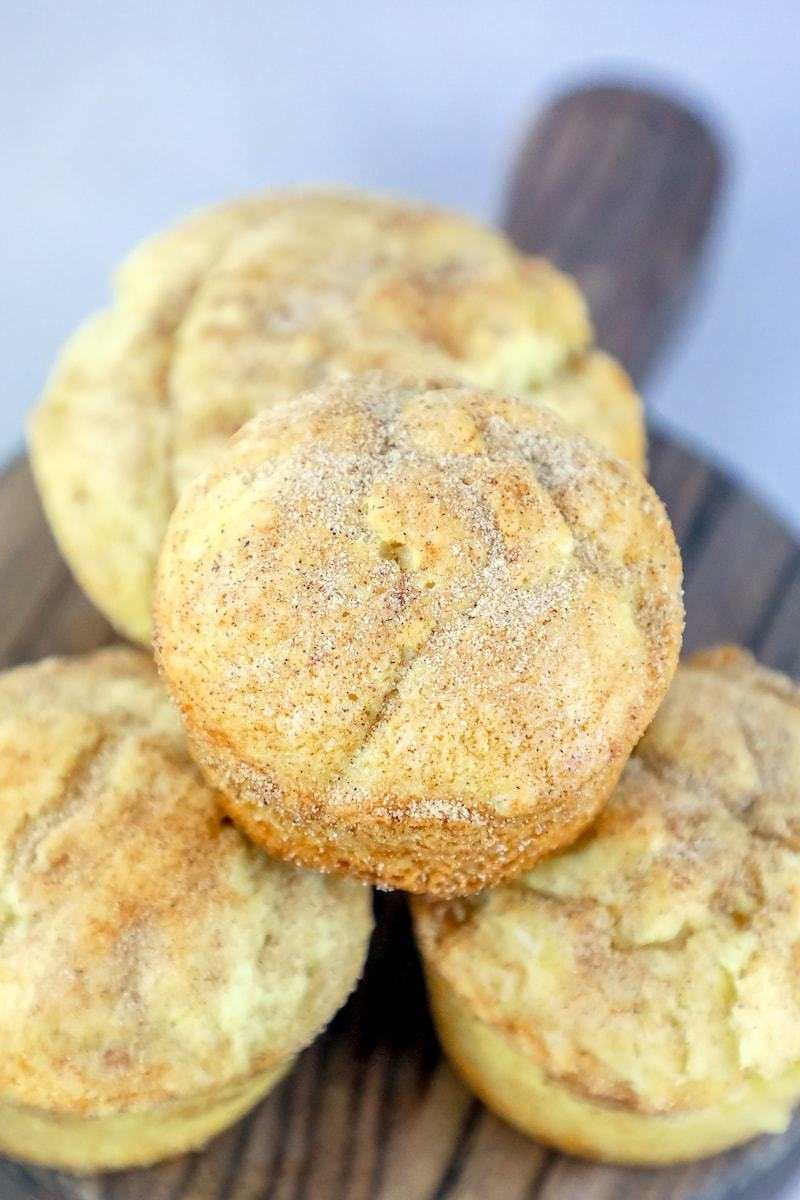 The Best Easy Snickerdoodle Muffins