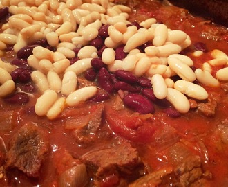 Mexican Feasting With Friends - Chuck Beef & Two Bean Chilli