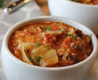 Cabbage Roll Soup Recipe