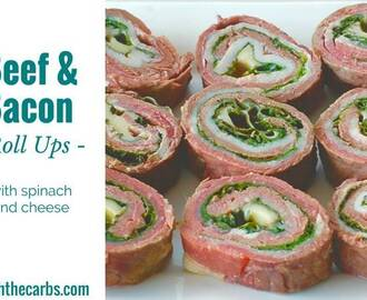Beef And Bacon Roll Ups