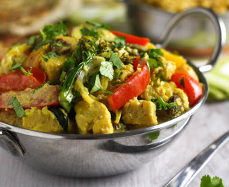 Healthier korma curry