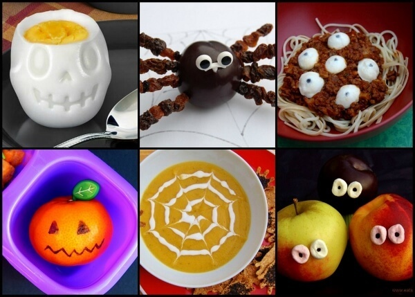 Fun and Easy Healthy Halloween Food