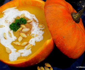 A taste of Autumn...Pumpkin Soup
