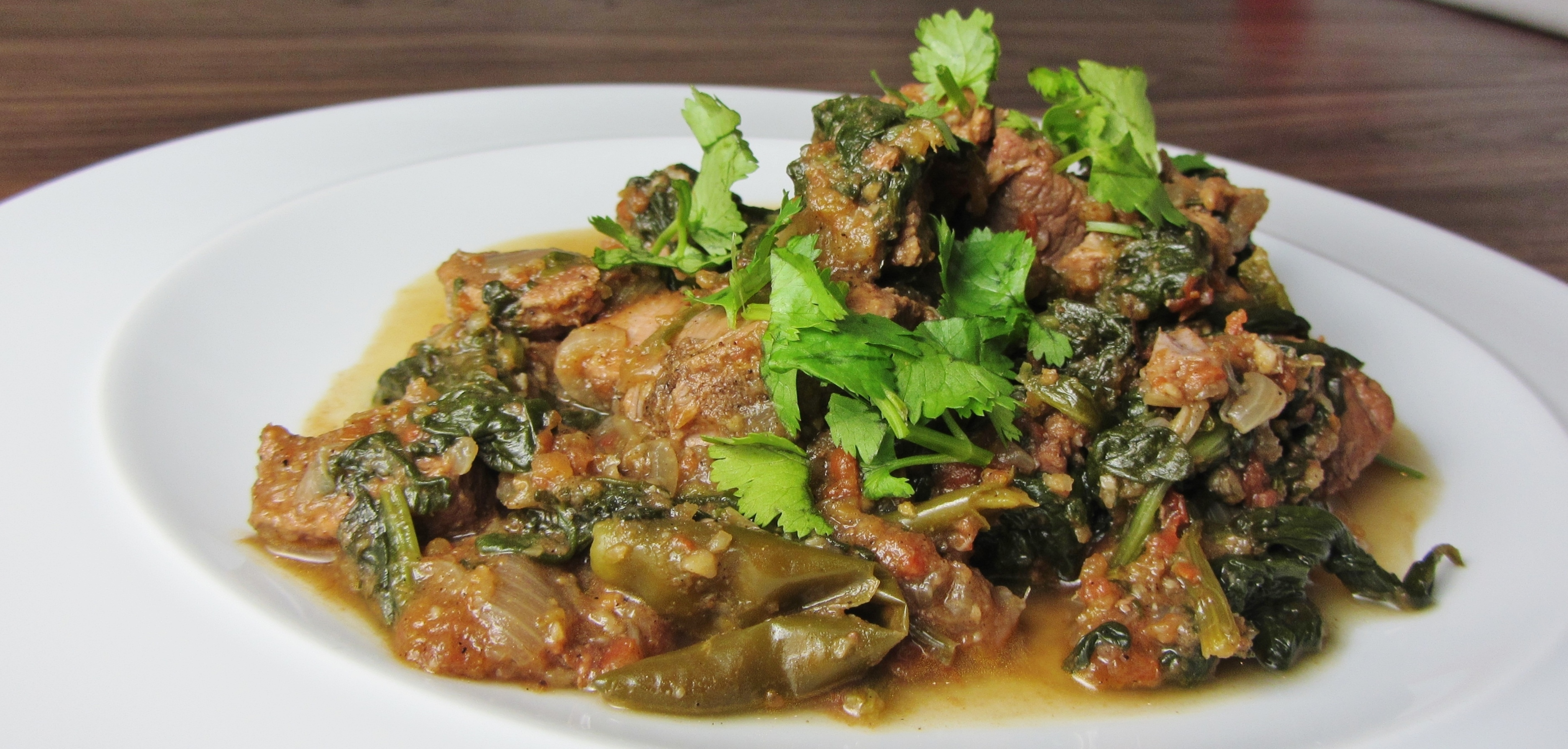 Lamb Saag – Lamb and Spinach Curry using Welsh Lamb