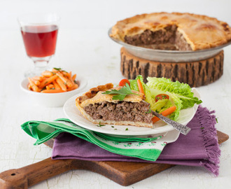 Traditional Tourtière - Canadian Meat Pie