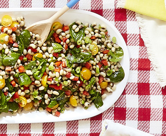 Fresh Black-Eyed Peas Salad