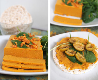 Peanut-Chili Vegan Cheese