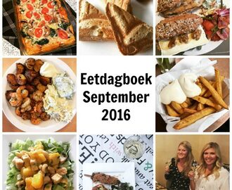 Eetdagboek: September 2016