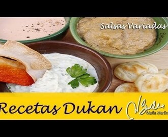 Salsas Dukan de Aperitivo (fase Ataque) / Dukan Diet Lowcarb Dips and Spreads