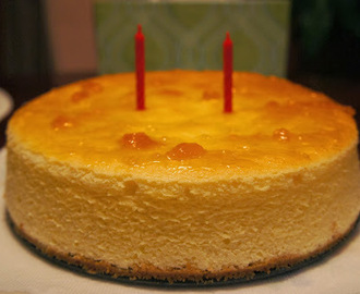Fluffy Japanese Cheesecake with Graham Cracker Crust