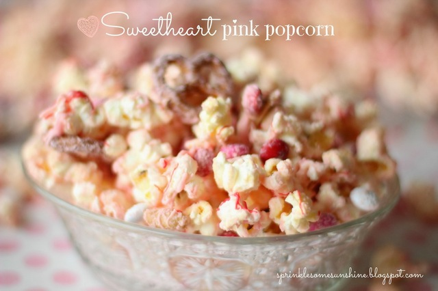 gourmet white chocolate popcorn party!