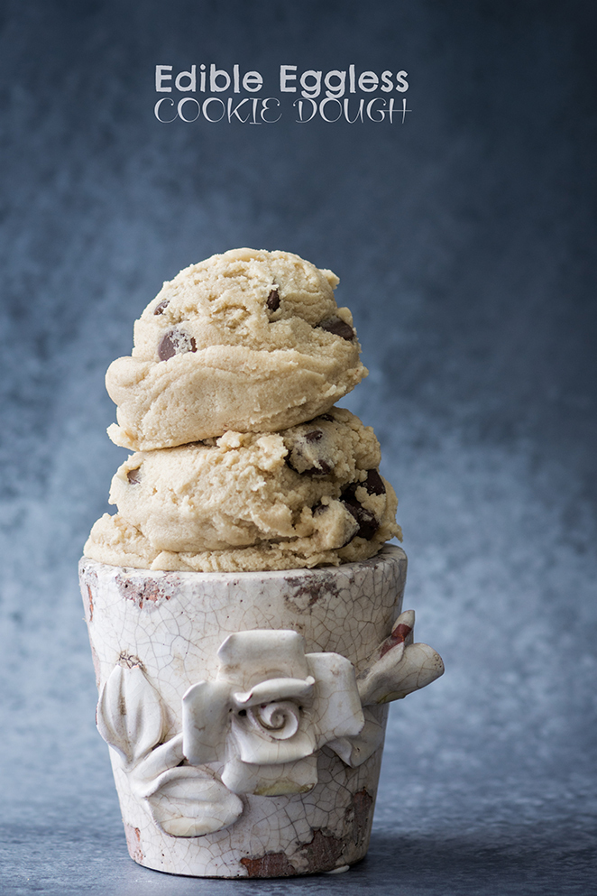 Edible Eggless Cookie Dough
