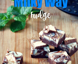 Double chocolate Milky Way Fudge