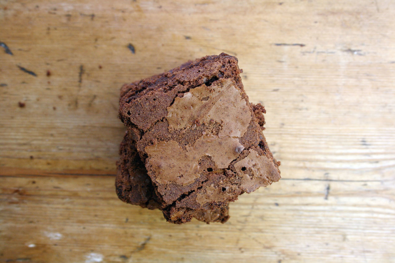 chocolate orange cointreau brownies