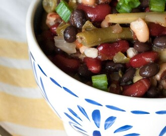 Salsa 5 Bean Salad Recipe