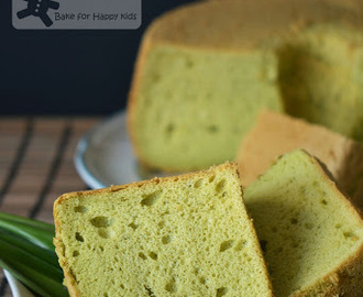 The Most Ideal Pandan Chiffon Cake