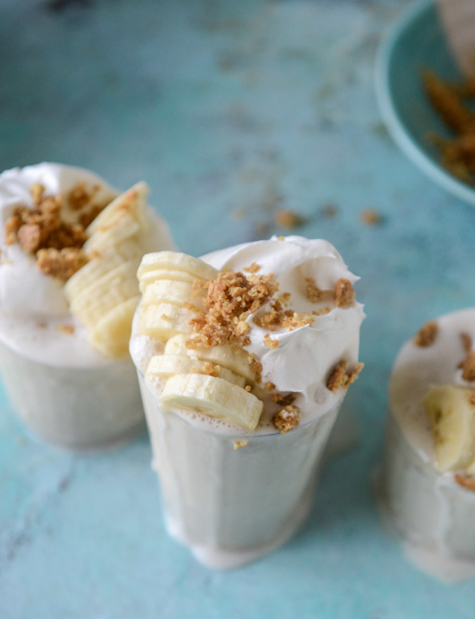 Frozen Banana Creams.