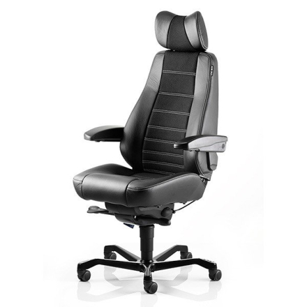 KAB Seating Controller White-Line Svart Fighter